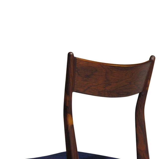 H. P. Hansen for Randers Danish Rosewood Dining Chairs - Set of 6 For Sale In San Francisco - Image 6 of 11