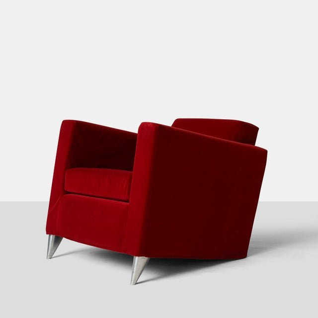 "Mid-Century Modern Philippe Starck chairs ""Len Niggleman"" for the Royalton Hotel For Sale - Image 3 of 4"