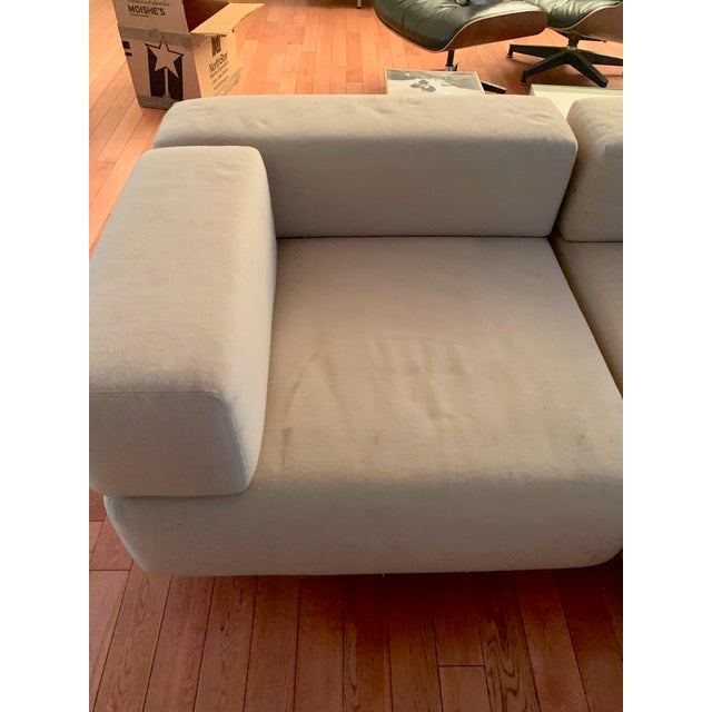 Completely original early 1970s Harvey Probber Cubo sectional set of 7 pieces including 3 corner pieces, 3 middle pieces...