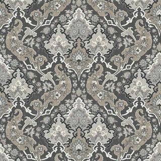 Cole & Son Pushkin Classic Damask Wallpaper Sample For Sale