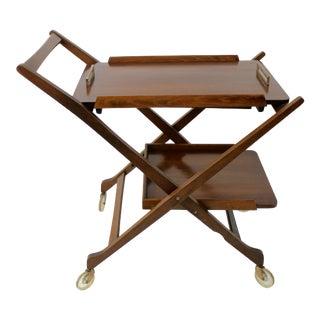 Mid Century Modern Bar Cart Server For Sale