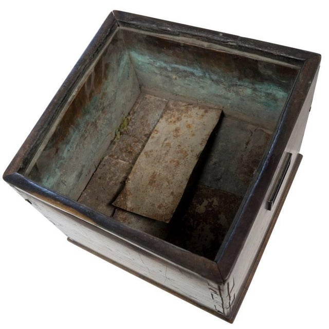 Early 20th Century Antique Square Hibachi For Sale - Image 5 of 8