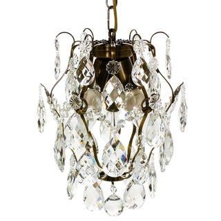 Crystal Ampel Style Chandelier For Sale