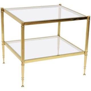 Maison Jansen Style Side Table For Sale