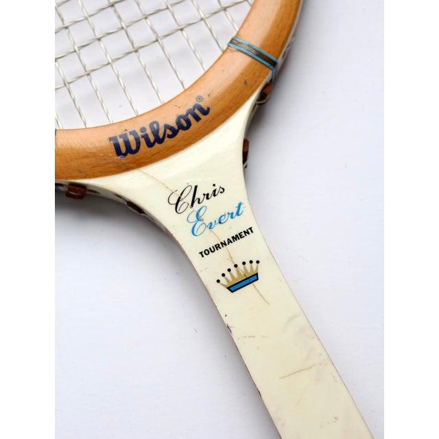1970s Wilson Chris Evert Tennis Racquet For Sale - Image 6 of 12