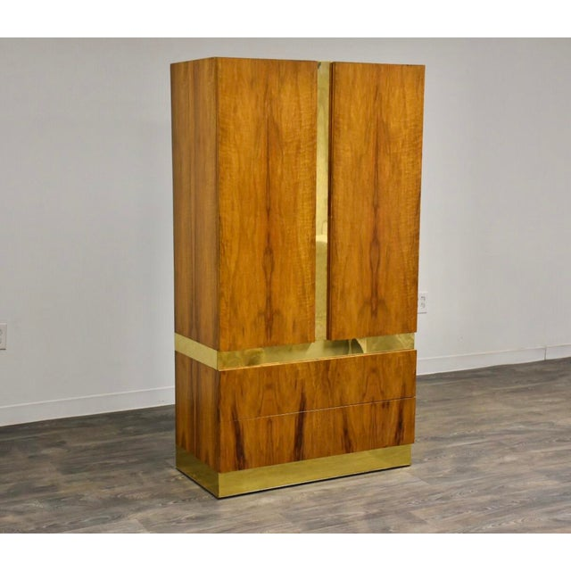 Milo Baughman for Thayer Coggin Armoire Dresser For Sale - Image 11 of 11