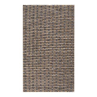 Antique American Braided Rug For Sale