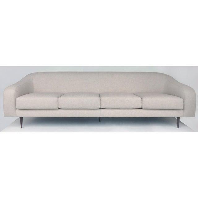 Brazilian Mid-Century Modern Sofa Designed by Joaquim Tenreiro, Re-Edition For Sale In Miami - Image 6 of 6