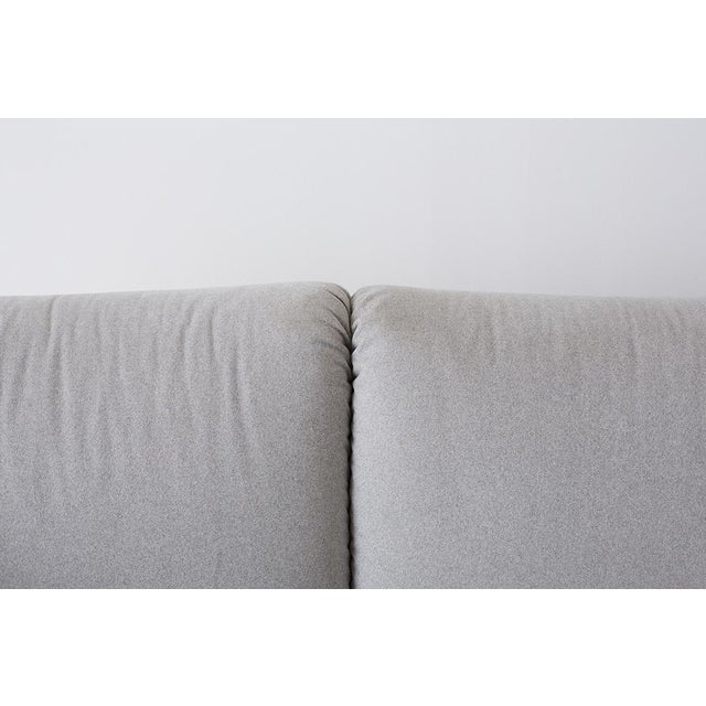 Late 20th Century Mario Bellini for Cassina Tentazione Upholstered Sofa For Sale - Image 5 of 13