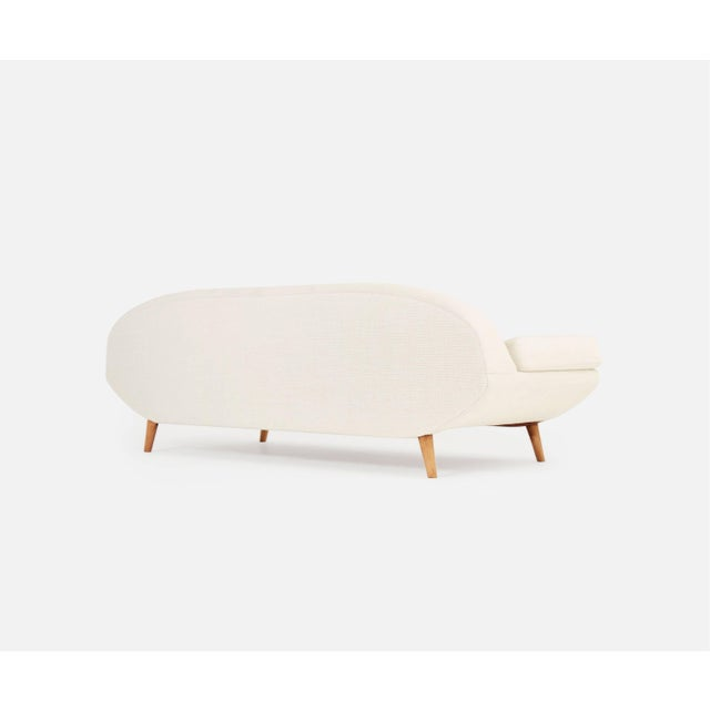 Mid-Century Modern Rare Folke Jansson Sofa or Daybed, Sweden, 1950s (Reupholstery Option) For Sale - Image 3 of 7
