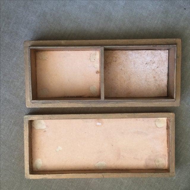 Mid-Century Distressed Owl Box - Image 6 of 9