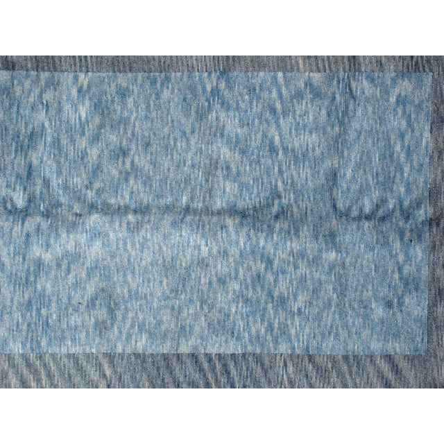 Leon Banilivi Blue Gabeh Carpet- 8′ × 10′ - Image 4 of 5