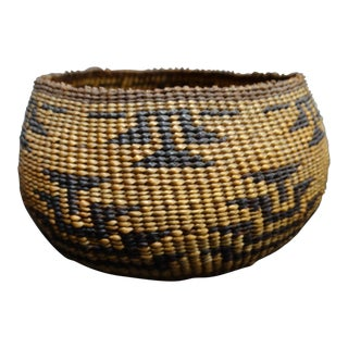 "Native American Style Pomo ""Great Basin"" Basket For Sale"