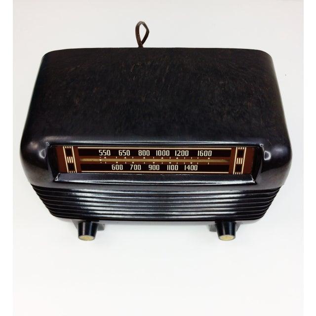 1946 Vintage Philco Transitone Tube Am Radio - Image 3 of 7