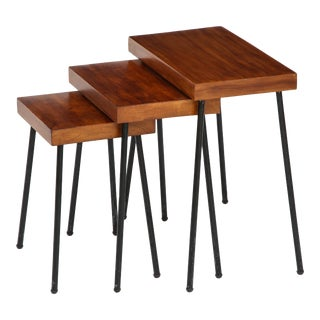 1960s David Wurster for Raymor Nest of Tables - Set of 3 For Sale