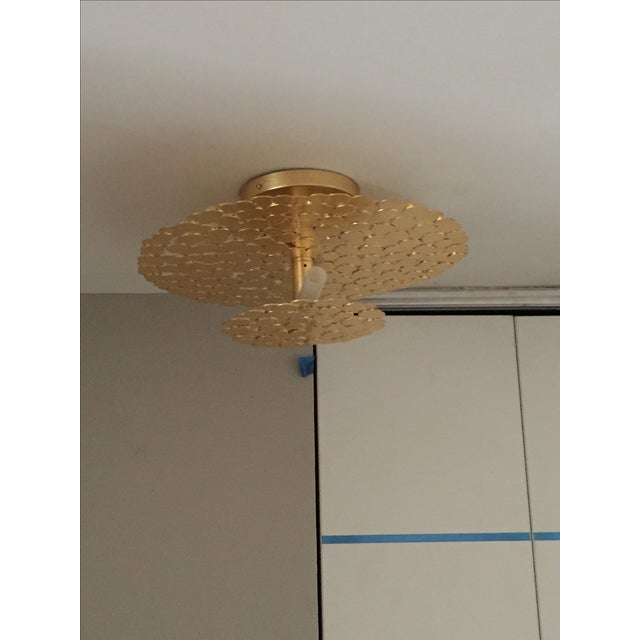 Gold Coin 2 Tiered Ceiling Light - Image 2 of 7