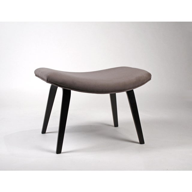 Wood Pair of Early Eero Saarinen Grasshopper Chairs for Knoll With Rare Black Frames For Sale - Image 7 of 10