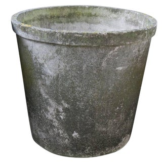 Round Fiber Cement Planters From France, Circa 1960 For Sale