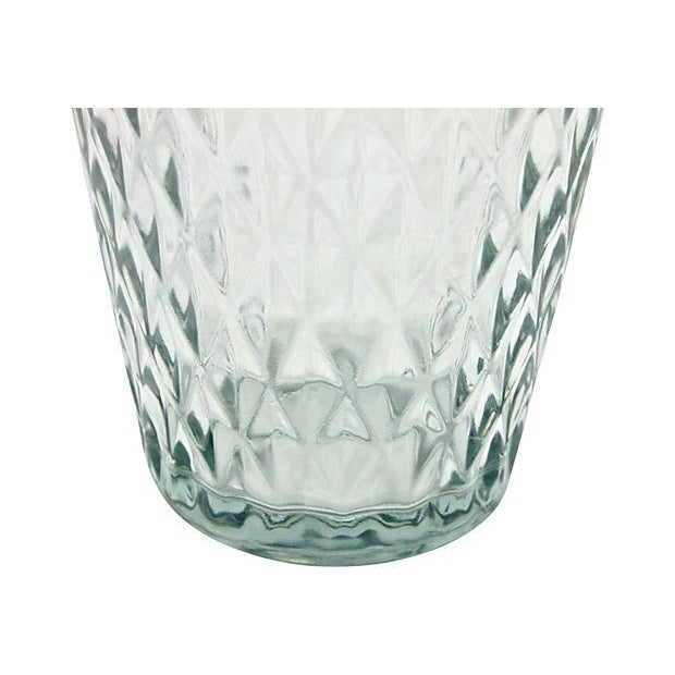 Mid Century Quilted Glass Vase - Image 4 of 5