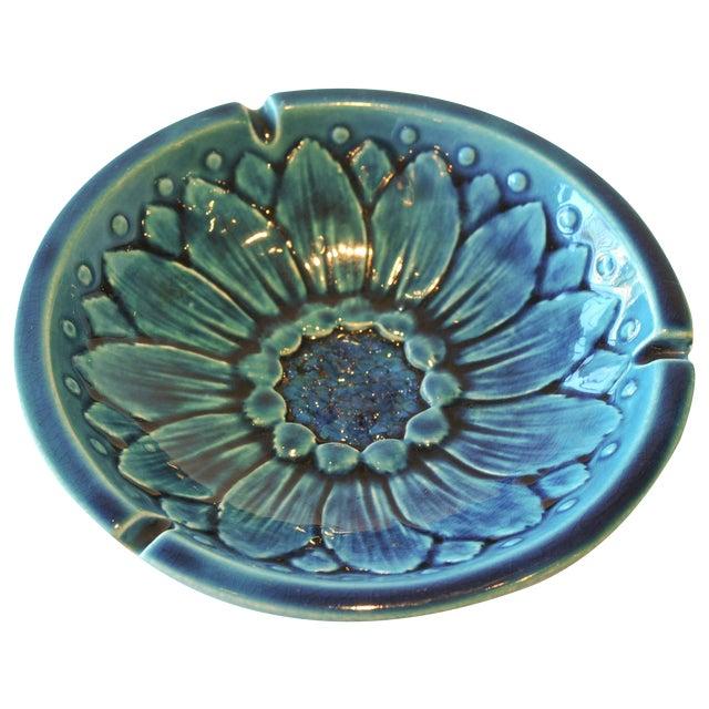 Mid-Century Freeman McFarlin Floral Bowl - Image 1 of 7