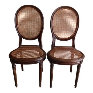 Caned American Chairs - Set of 2