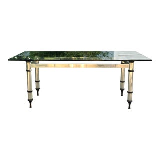 1960s Maison Jansen Directoire Dining Table For Sale