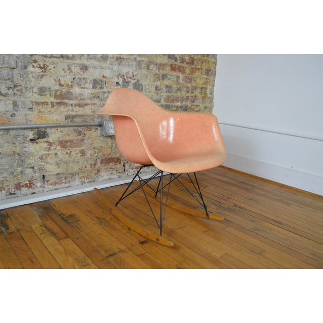 Charles & Ray Eames for Herman Miller Rar Zenith Rope Edge Rocking Chair For Sale - Image 11 of 11