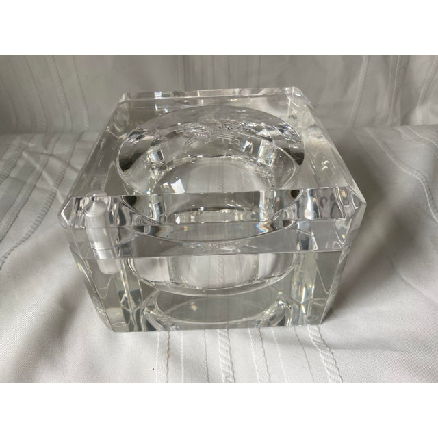 1960s 1960s Vintage Peter Alan Designs Anheuser Busch Lucite Candy Dish For Sale - Image 5 of 11