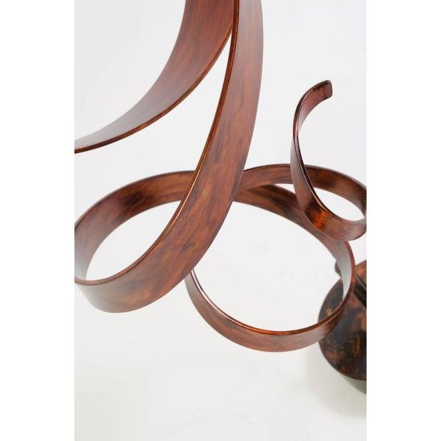 Hephaestus by Joe Sorge, Patinated Steel Sculpture - Image 5 of 9