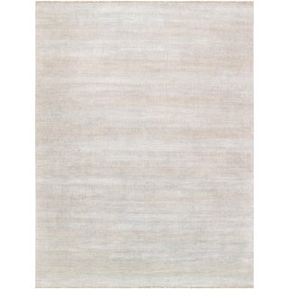 """Pasargad Transitional Bamboo Silk & Wool Area Rug - 11'10"""" X 15'9"""" For Sale"""