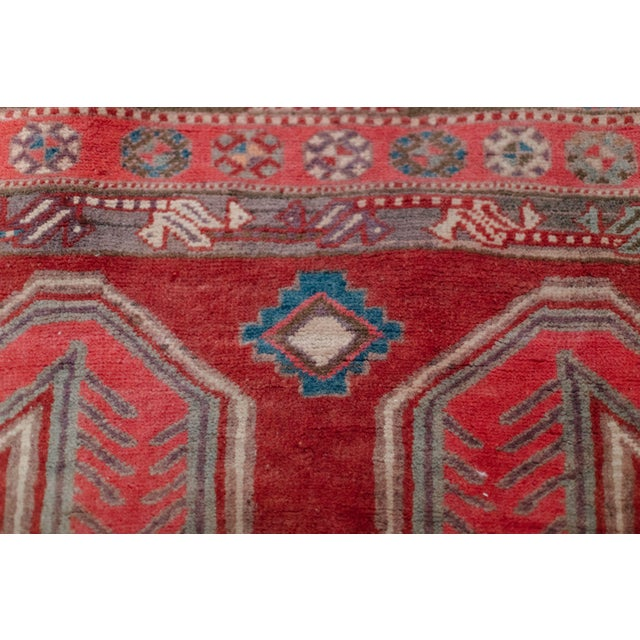 """1940s Vintage Nomadic Persian Rug-4'8'x9'7"""" For Sale - Image 10 of 13"""