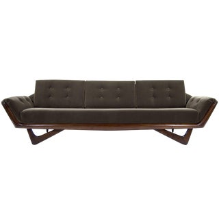 1960s Adrian Pearsall for Craft Associates Gondola Sofa For Sale