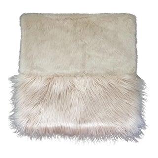 West Elm Faux Fur Pillow Cover