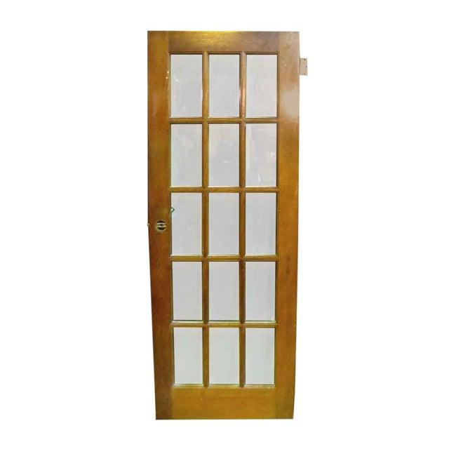 Single pine french 15 panel door chairish single pine french 15 panel door planetlyrics Images
