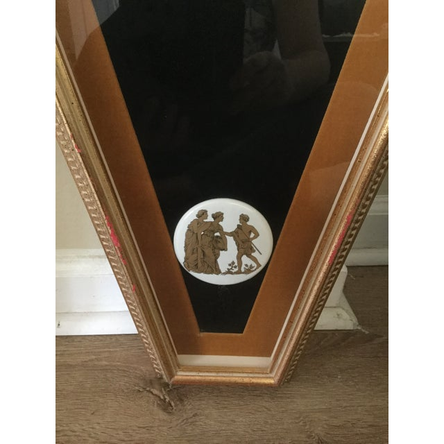 Hollywood Regency Mid Century Grecian Shadowbox by Andrew Kolb and Son Ltd - a Pair For Sale - Image 3 of 13