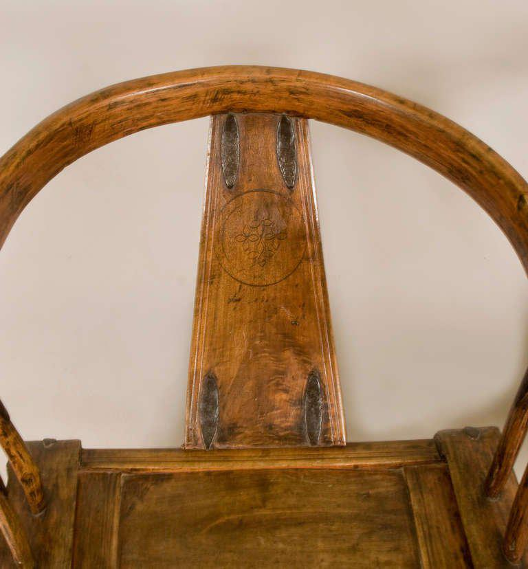 19th Century Chinese Yoke Back Chairs   A Pair   Image 5 Of 6