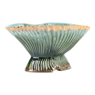Vintage Mid Century Schafer Ceramic Planter/ Dish For Sale