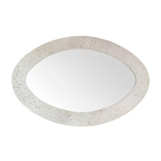 Mother of Pearl Oval Mirror For Sale