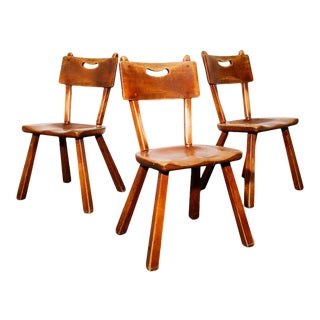Side Chairs by Herman De Vries for Cushman Furniture For Sale