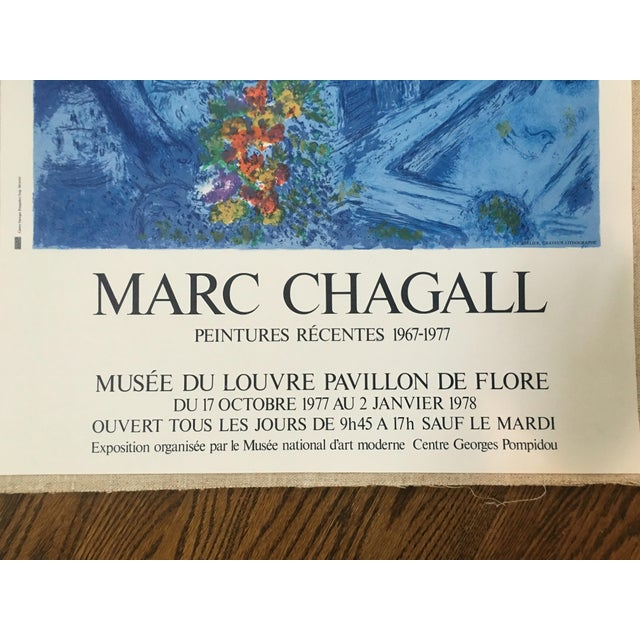 Mid-Century Chagall Peintures Recentes Poster - Image 4 of 9