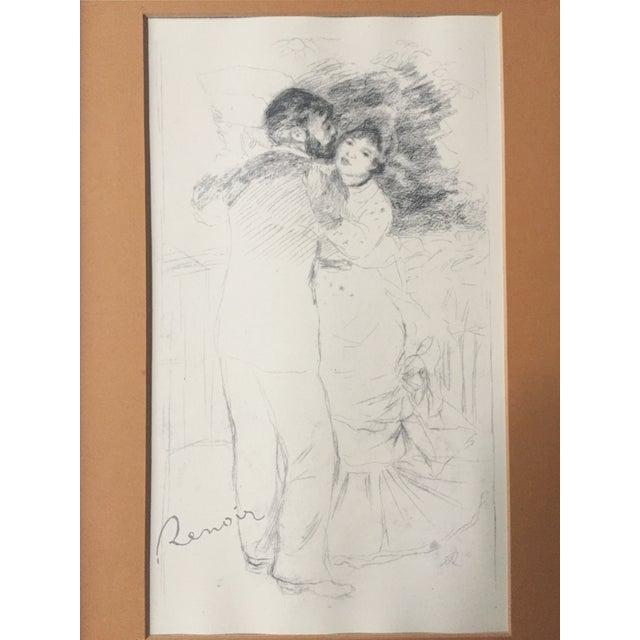 "Vintage Renoir Reprint ""Dance at Chatou"" - Image 3 of 7"
