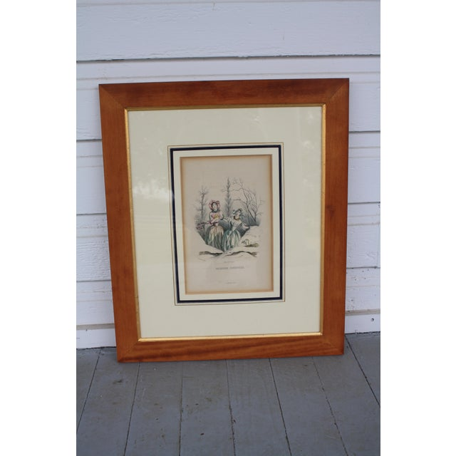 French Antique French Engraving - a Pair For Sale - Image 3 of 11
