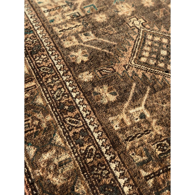 1950s Vintage Persian Sarab Runner - 3′1″ × 10′6″ For Sale - Image 10 of 13