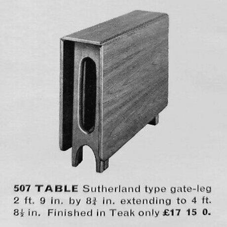 """Vintage 1960s Mid-Century Norwegian Modern Bendt Winge """"Ellipse"""" Style Gate-Leg Drop-Leaf Table For Sale - Image 10 of 11"""
