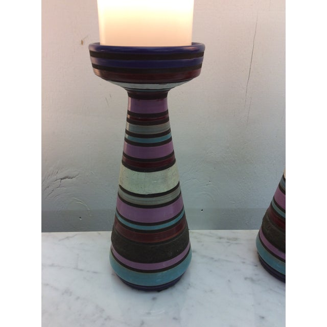 Bitossi Aldo Londi Bitossi Ceramic Table Lamps - a Pair For Sale - Image 4 of 11
