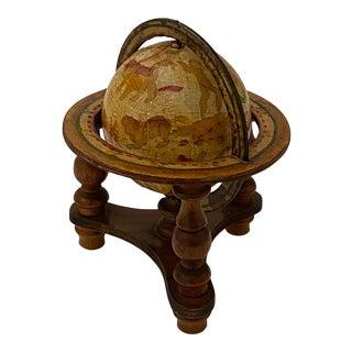 Vintage Artisan Fantasy Celestial Globe Antique Motif For Sale