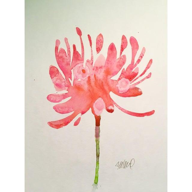 """Burst"" Original Watercolor Painting - Image 1 of 2"