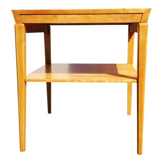 A Mid- Century - Post Modern - Swedish Edmond Spence Side Table For Sale