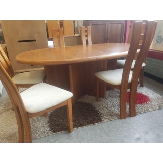 1970s Vintage Danish Modern Dining Room Set- 7 Pieces Preview