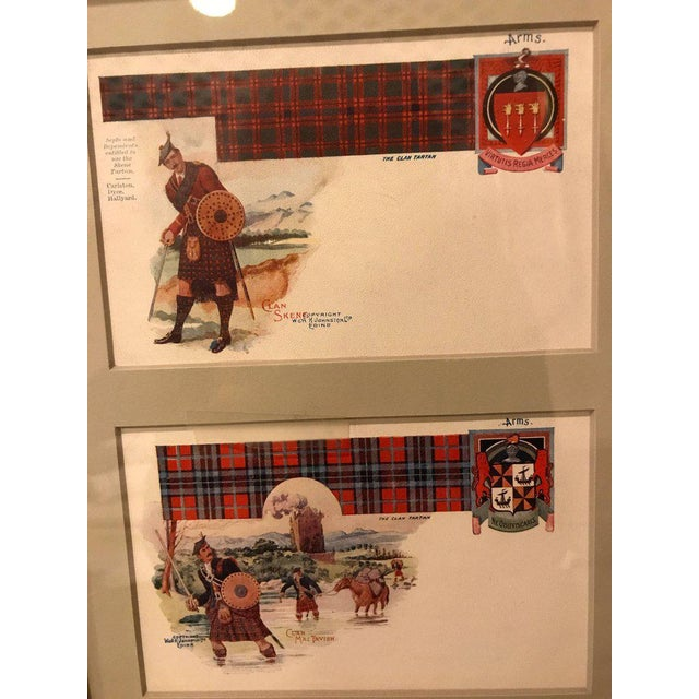 Vintage Catherine Reiss Inc Custom Framed Scottish Postcards - Set of 6 For Sale - Image 5 of 10